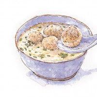 米粉貢丸湯